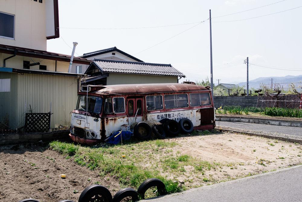 Abandoned Bus Asemi Artisan