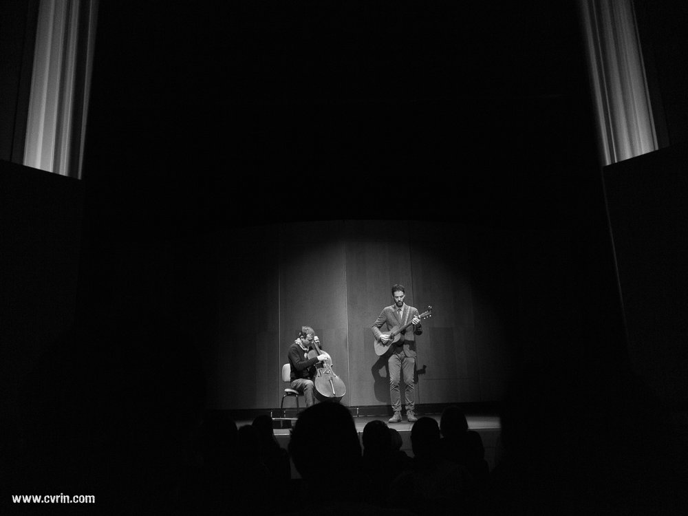 Vincent Segal et Piers Faccini Théâtre Le Reflet, Vevey, Suisse • 25.1..14