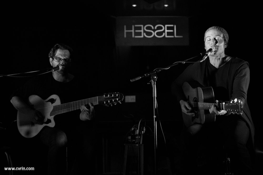 Thomas Carbou et Jeff Moran Hessel Espace Culturel, Orbe, Suisse • 06.03.16