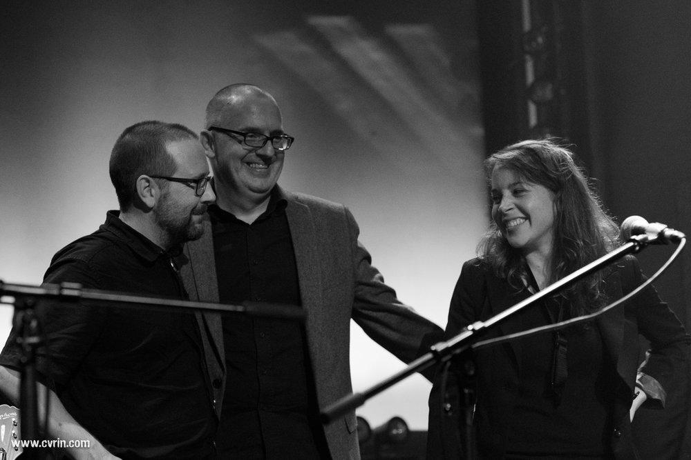 Fred Merk, Michael Frei et Emilie Roulet