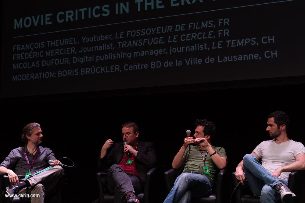 Boris Brückler, Nicolas Dufour, Frédéric Mercier et François Theurel