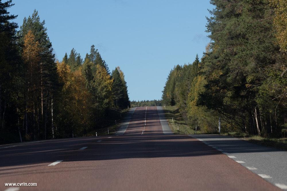 Y a pas à dire, la Suède hors saison c'est encore plus désert que d'habitude, ce qui n'est pas pour nous déplaire!  Sigma 100-400mm • Canon 7DMKII