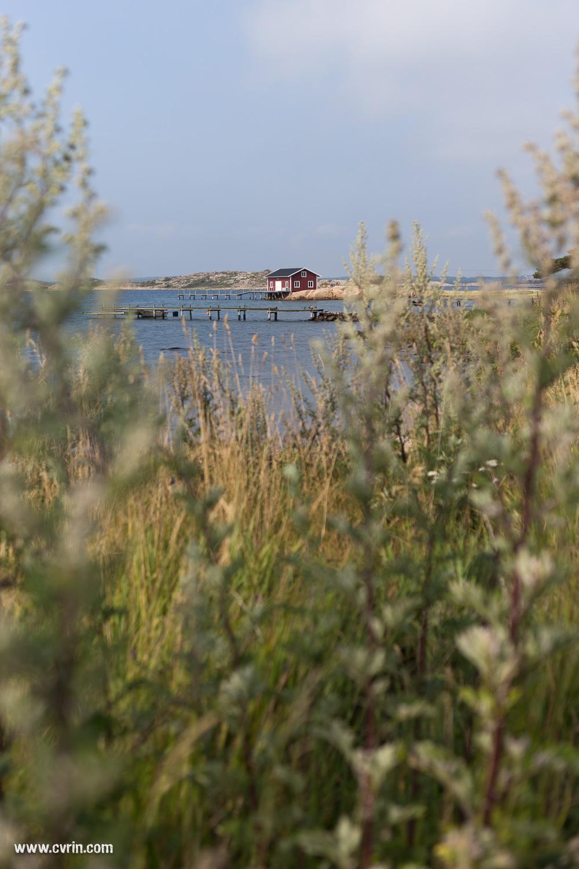 Une journée passée sur l'île de Resö.