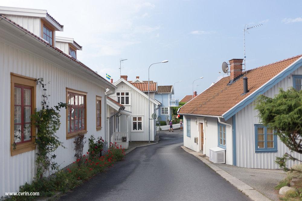 Fjällbacka, la petite ville où se situent les livres de Camilla Läckberg.