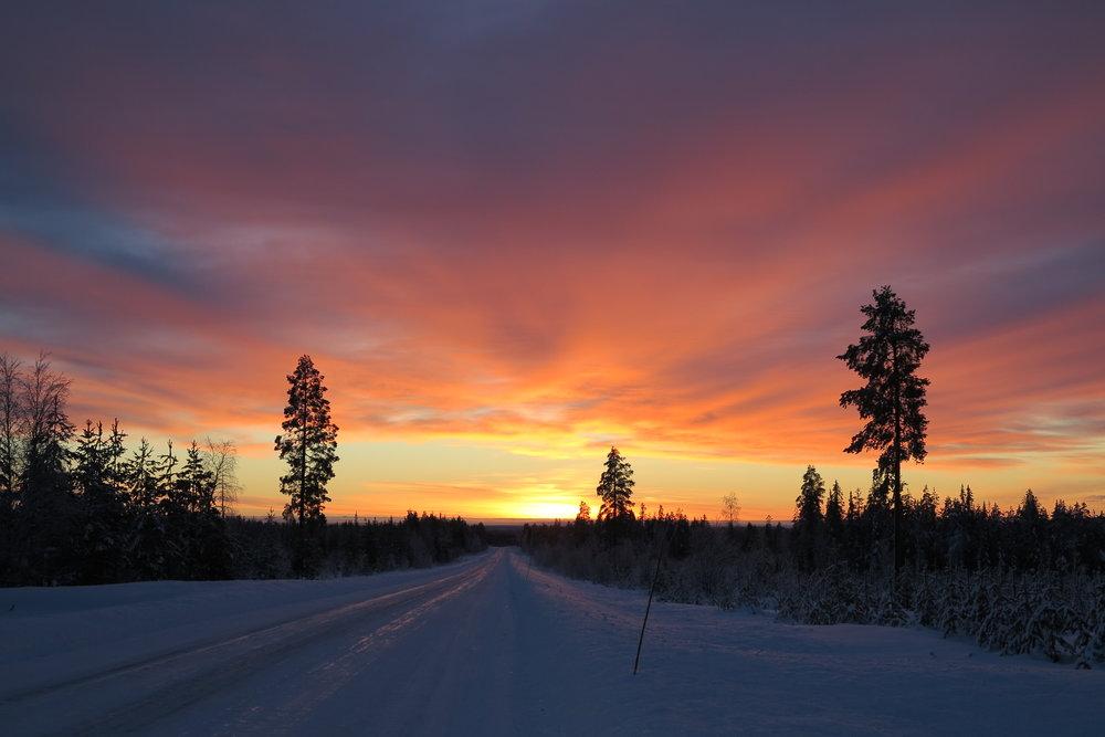 Laponie suédoise - Hiver 2012-2013