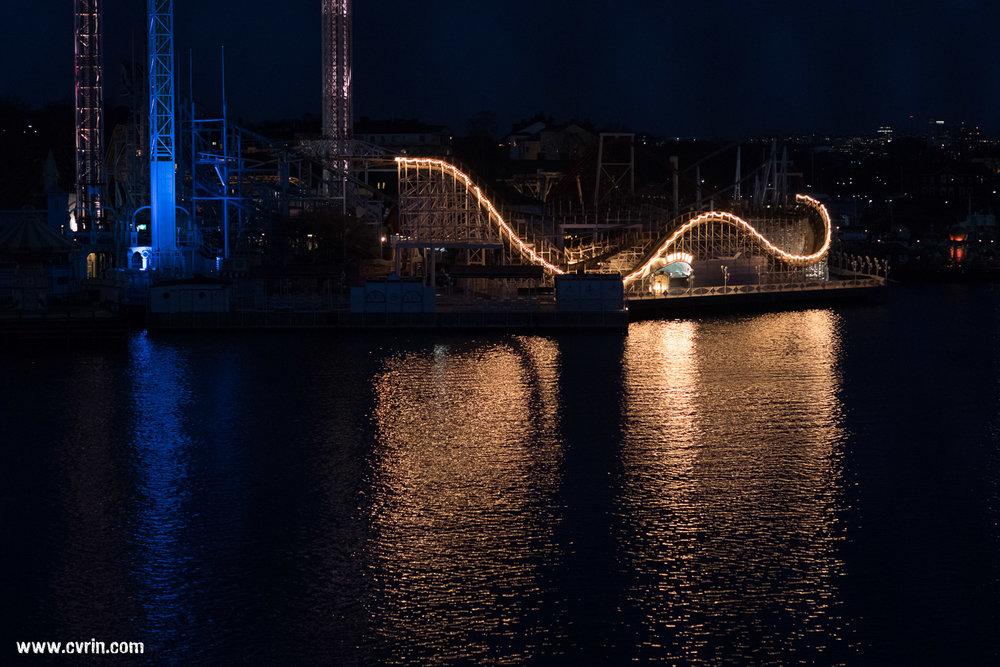Le parc d'attractions Gröna Lund situé sur l'île de Djurgården!