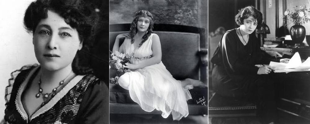 Alice Guy-Blaché, Cleo Madison and Dorothy Davenport Reid