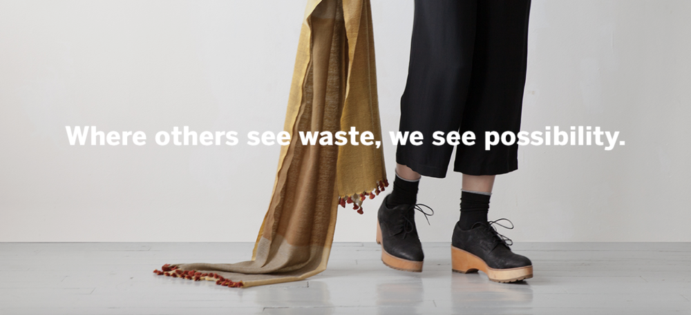 Eileen Fisher circular by design - read more @eileenfisher.com/vision-2020/