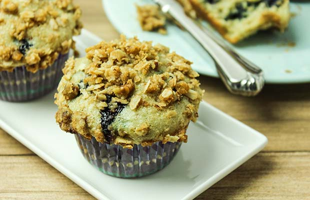 Source: Blueberry Oat Flax Muffin, BlueSkyIdeas