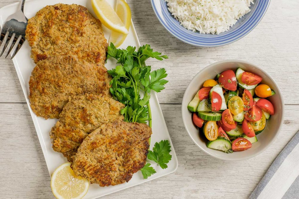 Flax Crusted Cutlet