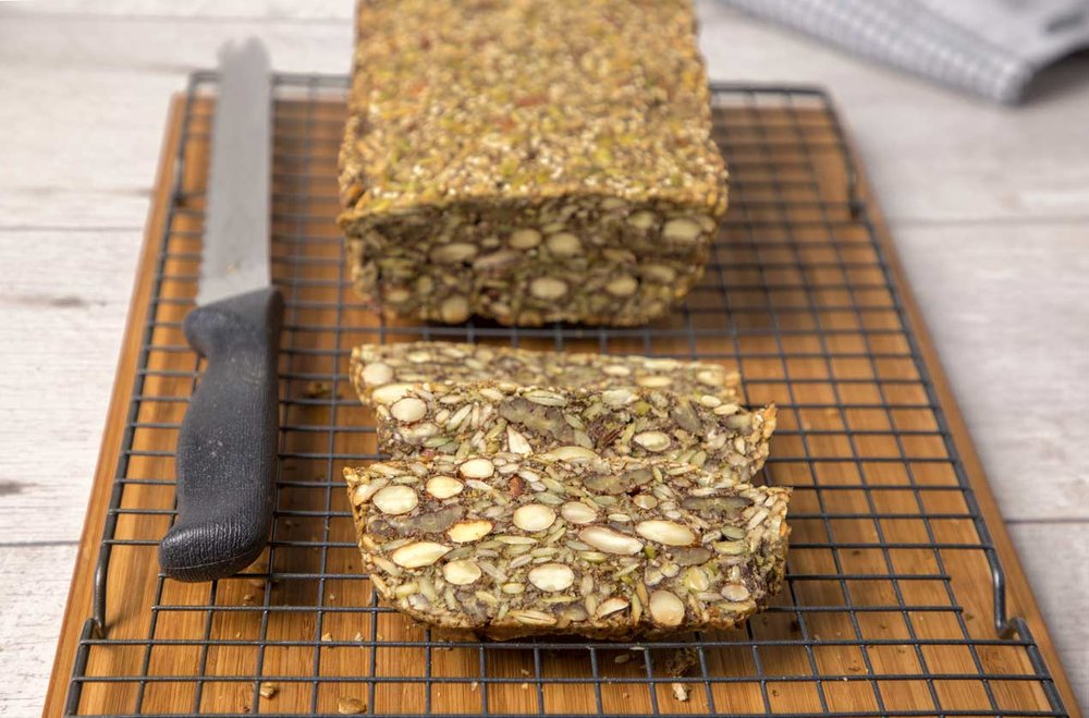Nordic Nutseed Flaxbread