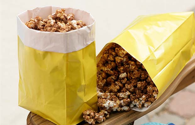 Source: Chocolate Caramel Popcorn, Saskflax.com