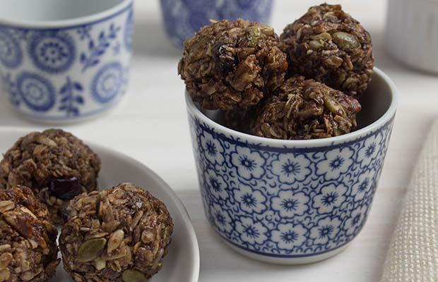 Source: Chocolate Granola Bites, HealthyFlax.org