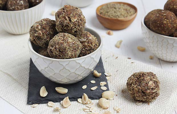 Source: Chocolate Surprise Flax Bites, HealthyFlax.org