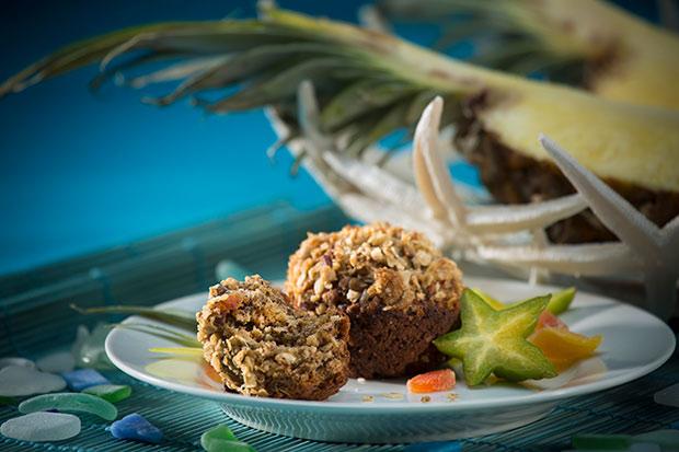 Source: Carribean Crunch Muffins, SaskFlax.com and POGA.com
