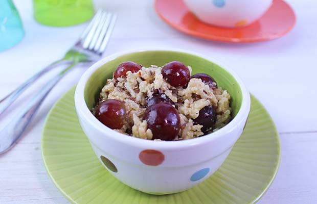 Source: Curried Rice and Grape Salad, SaskFlax.com