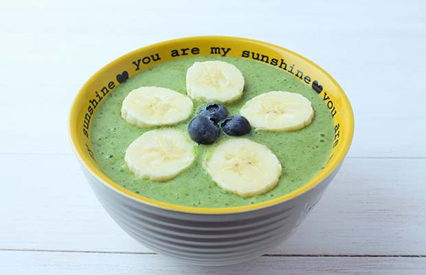 Source: Flax and Kale Green Smoothie Bowls, BlueSkyIdeas.ca
