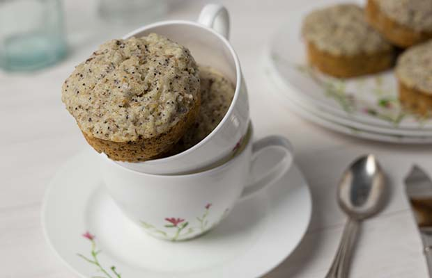 Source: Lemon Poppy Seed Muffins, Healthyflax.org