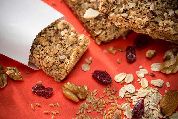 Source: Crunchy Granola Bars, SaskFlax.com and POGA.com
