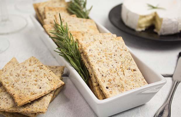 Source: Flaxseed Crackers, SaskFlax
