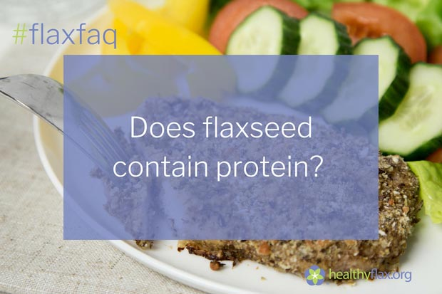 "Answer - Flaxseed is a great source of plant-based protein. The protein found in flaxseed is very similar to that of soybean protein, which is considered one of the most nutritious plant proteins.  This is attributed to the type of amino acids present, which are the building blocks of protein. Flaxseed contains numerous ""essential amino acids"", which the body cannot produce and therefore must obtain from the diet.  This is of significance to vegetarians relying on plant sources to meet their daily protein requirements."