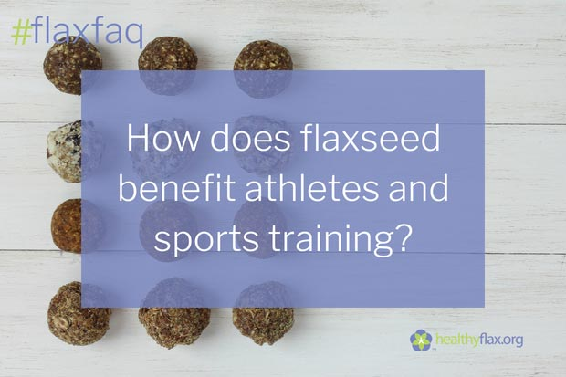 Answer: - The omega-3 fatty acid, alpha-linolenic (ALA), is an essential fatty acid found in flaxseed that helps to improve the metabolism of fats, which is especially helpful for endurance sports, such as marathons. When a runner