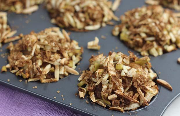 Source: Hearty Cinnamon-Apple Pumpkin Muffins, Nancy Hughes