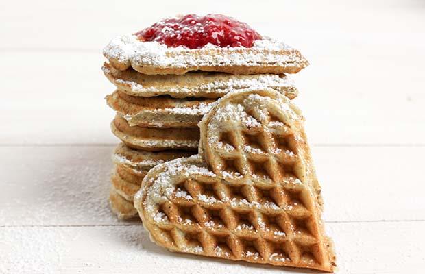Source: Homemade Flax Waffles, SaskFlax