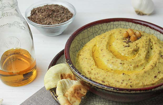 Source: Hummus with Flax, HealthyFlax.org