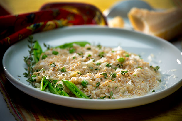 Source: Oat Risotto, SaskFlax.com