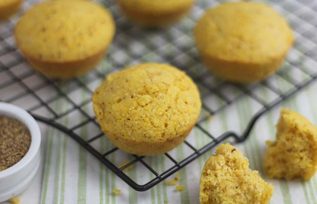 Source: Sweet Hometown Corn Muffins, Nancy Hughes