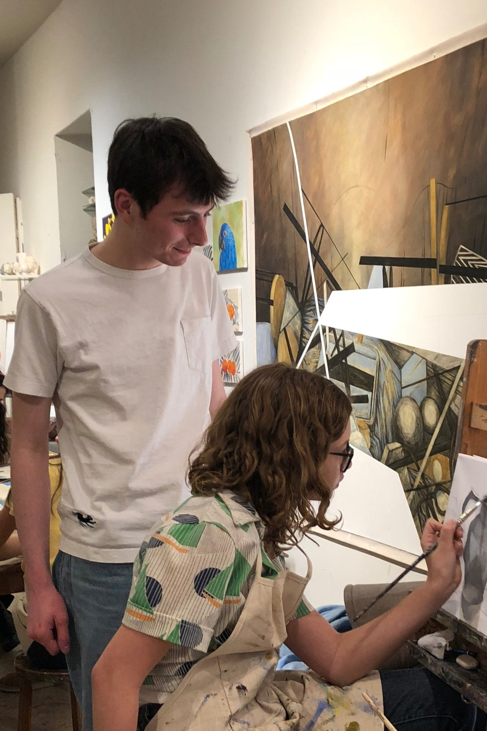 - Bennet Wood is a New York native and Wet Paint Art Studio alum. He has been a teacher assistant at WPA for three years. Bennet is an aspiring artist and will be attending college next year.