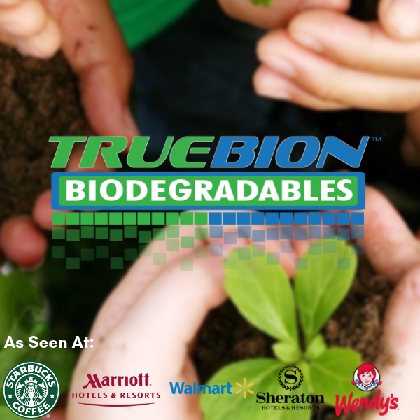 Truebion Biodegradables - As seen at Starbucks