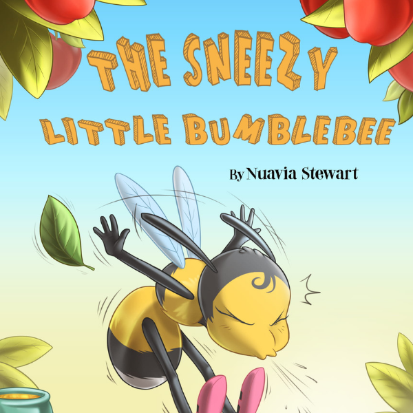 Amazon E-Book | The Sneezy Little Bumblebee