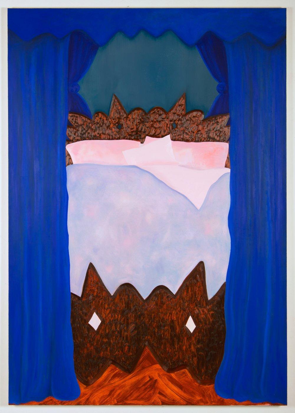 Princess S , oil on canvas, 200 x 140cm, 2018