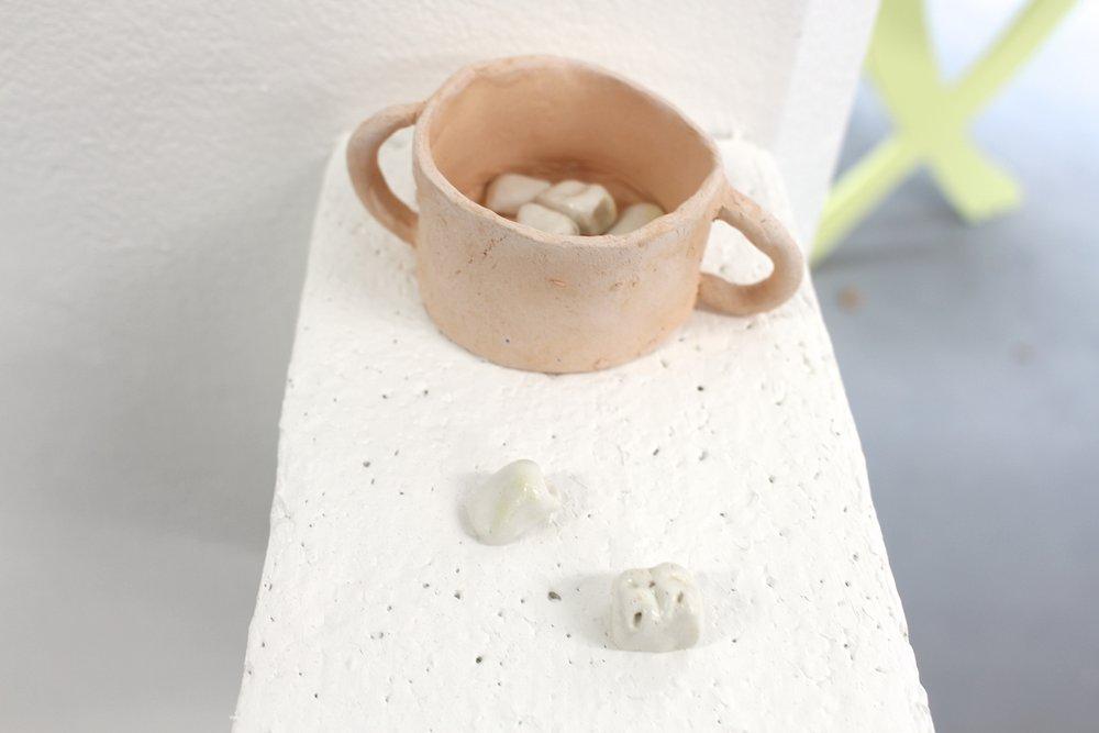 Teeth , ceramic, 2018