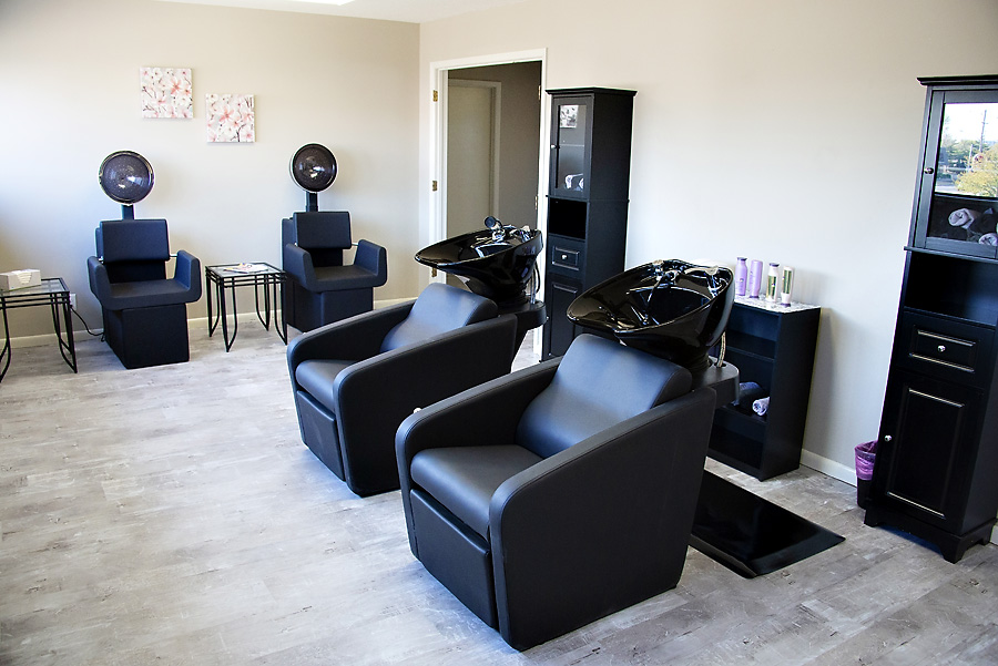 Rinse & Repeat - With two shampoo stations, two dryer stations, and stylist booths available for rent, 6° Salon can update your look as often as you would like.