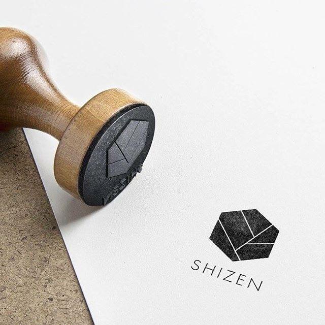 Logo design for @shizen_flowershop 🖤🖤🖤