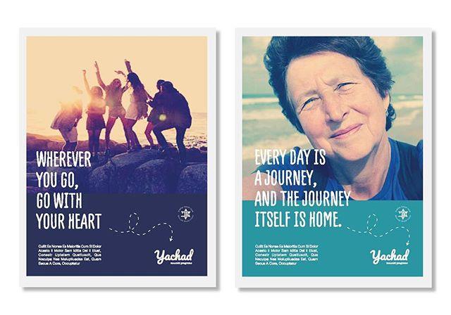 Poster design for @maccabi international programs ❤️❤️❤️