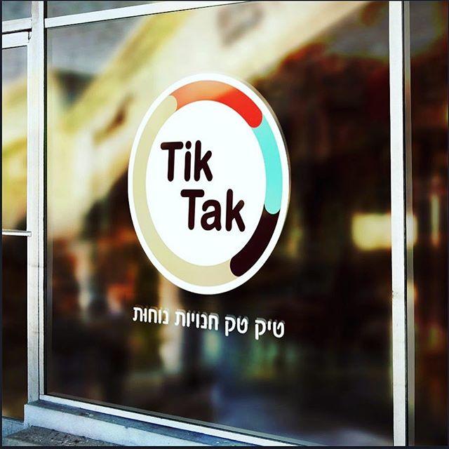 Logo for TikTak 24/7 comfort store chain ❤️❤️❤️🍫