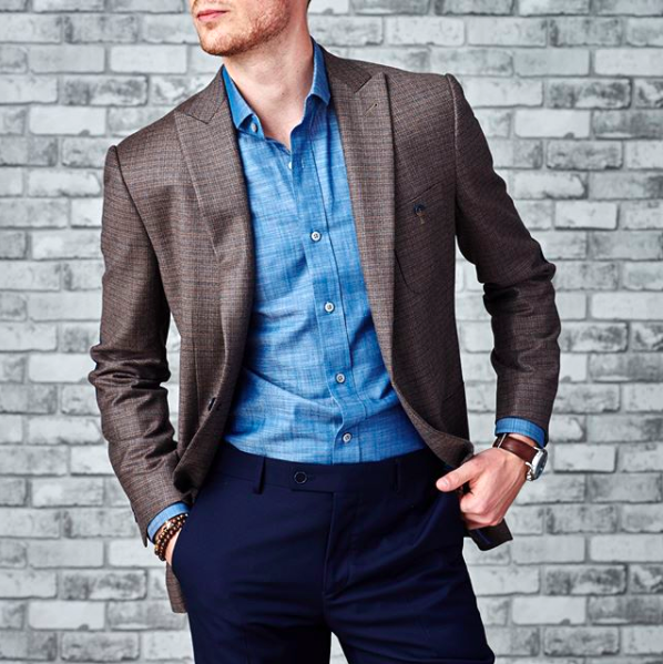 This is a perfect, yet elevated, dressy casual outfit by  Surmesur . You will be the best dressed person if you show up looking like this, but in a beautifully not in-your-face manner.