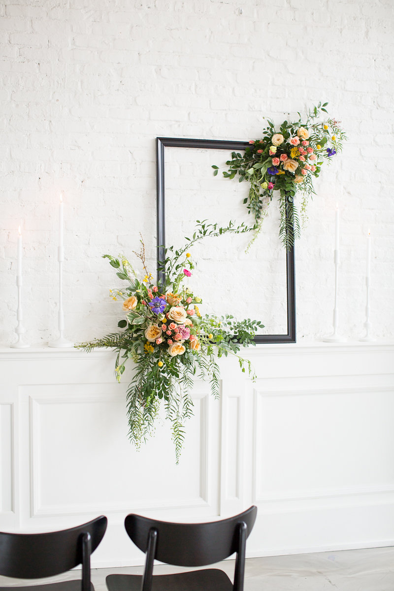 Floral and Greenery Wedding Decorations Chicago Wedding Alexandra Lee Photography