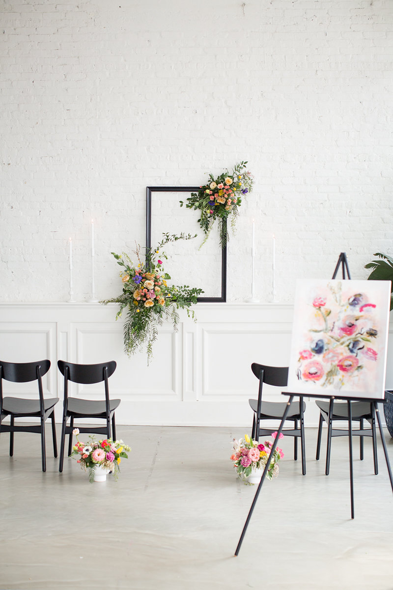 Floral Decor Chicago Wedding Alexandra Lee Photography