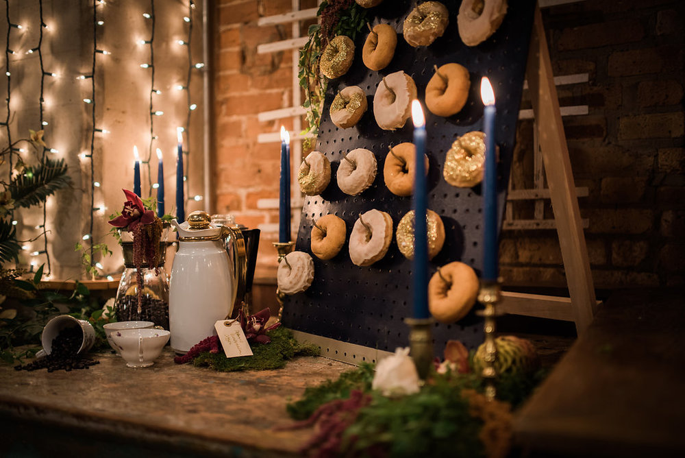 Donut Wall Chicago Wedding Inspired Eye Photography