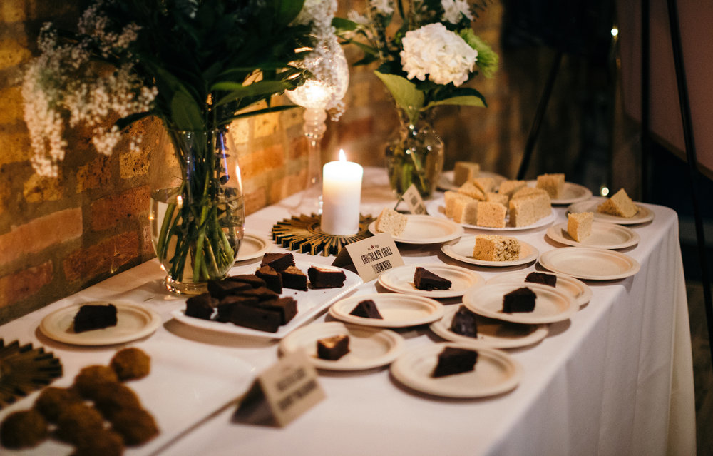 Dessert Table Chicago Wedding Reception Dorey Kronick