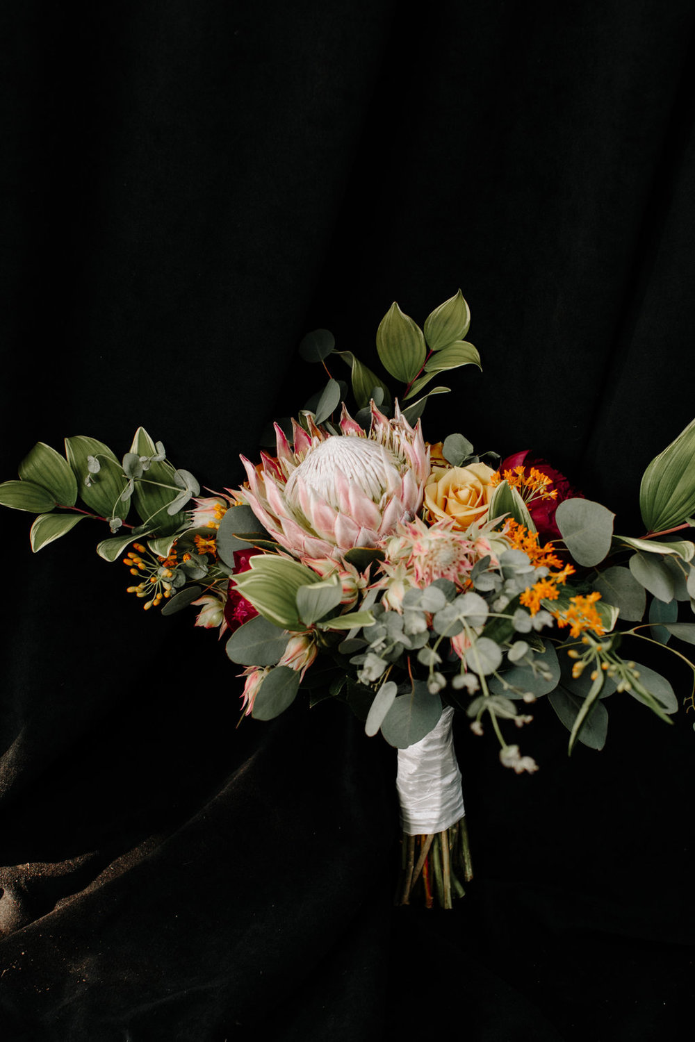 Small Greenery Bridal Bouquet Chicago Wedding Erika Mattingly Photography
