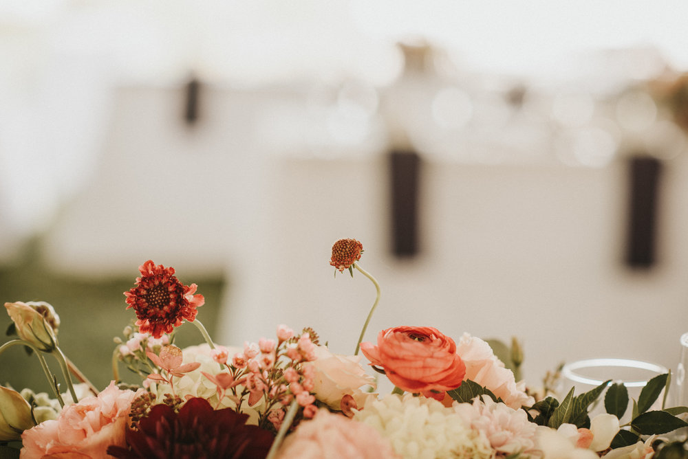 Floral by  Ithaca Flower Shop , mentioned above. Photography by  Rachel Liz Photography,  Rentals by  McCarthy Tents & Events.