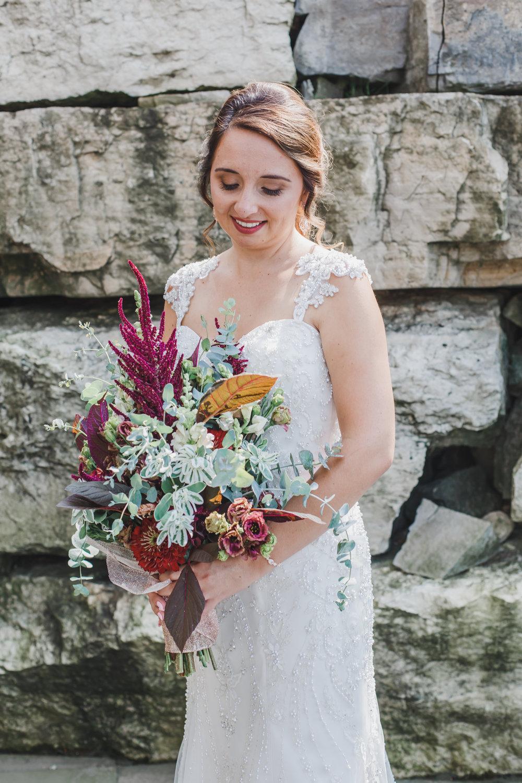 Glamorous Wedding Gown Chicago Wedding Grey Garden Creative