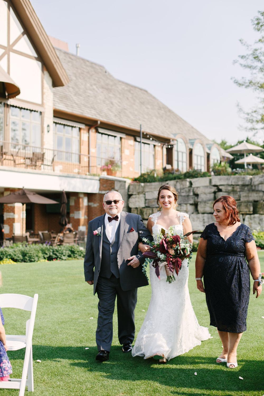 Bridal Entrance Chicago Wedding Ceremony Grey Garden Creative