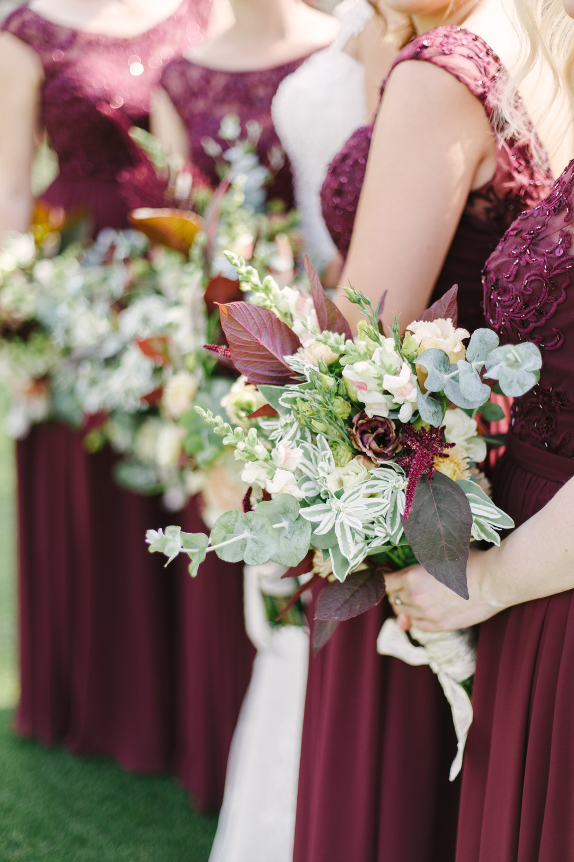 Greenery Bridesmaid Bouquets Chicago Wedding Grey Garden Creative